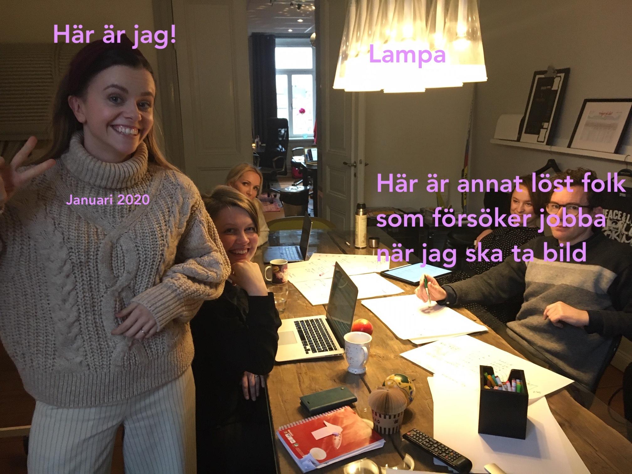 Victoria Stenstad praktiserar på United Power 2020