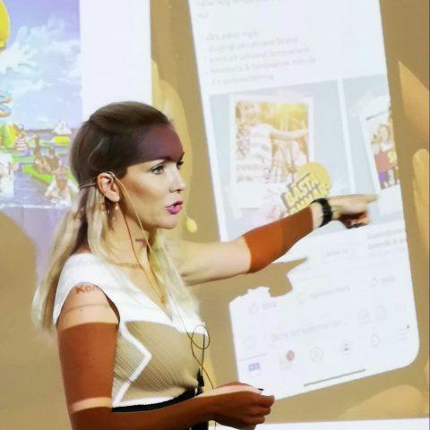Föreläsning Sociala medier Facebook - Jessica Engström - United Power